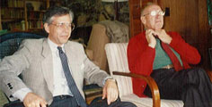 Fredmund Malik and Peter Drucker in Claremont